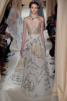 Heart Gown -- Valentino Spring 2015 Couture