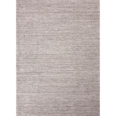 Hand-loomed Solid Pattern Gray/ Black Rug (8' x 10') | Overstock.com Shopping - The Best Deals on 7x9 - 10x14 Rugs