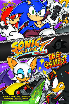 Sonic Select #9. Buy it now at the Archie Comics online store!