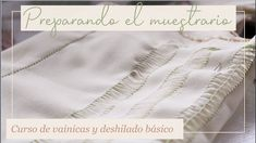 PREPARANDO MI MUESTRARIO CON DOBLADILLO | 1 | Curso de vainicas y deshilado básico - YouTube Drawn Thread, Thread Work, Youtube, Hemline, Toss Pillows, Tejidos, Crochet Edgings, Dressmaking, Hardanger