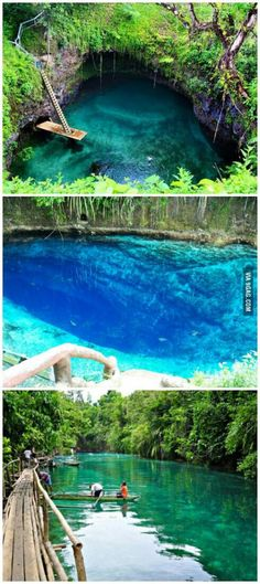 The Enchanted River, Philippines