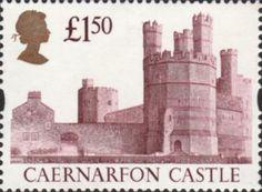 High Value Definitives £1.50 Stamp (1997) Caernarfon Castle