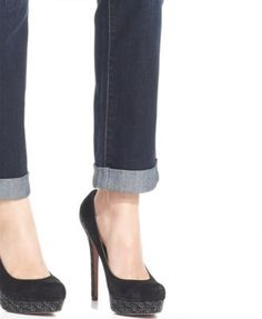 Style & Co Petite Curvy-Fit Caneel Wash Ex-Boyfriend Jeans, Only at Macy's - Blue 4P
