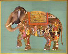 Via loverofbeauty.tumblr.com  Mughal Painting, India