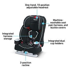 5 Way Multiway Buckle Black Plastic Harness Highchair Replacement All Sizes