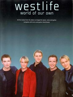 Westlife: World Of Our Own - Piano, Vocal & Guitar. £5.00