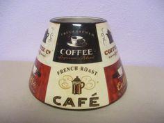 Yankee Candle Large Jar Shade Coffee Cafe #YankeeCandle