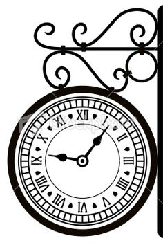 Free Photos Black And White Black And White Clock