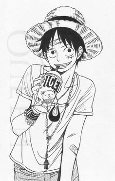 Monkey D. Luffy #One piece