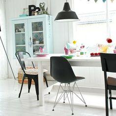 Eames DSR chair zwart