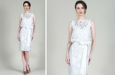 Take a peak at this easy and beautiful LWD from Tadashi Shoji