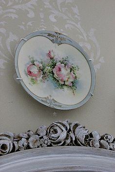 love this rose plate!