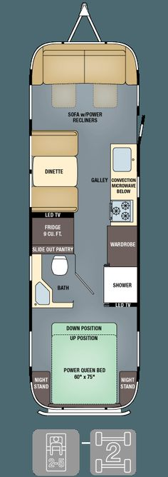 Floor Plans - Classic 30 caravane de Thomas Dakota ( cops ).