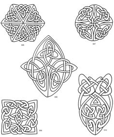 Celtic Designs for Artists and Craftspeople