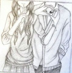Drawing- boy & girl