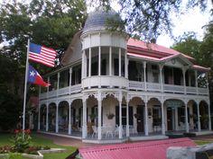 Gruene Mansion Inn, where we spent our Honeymoon