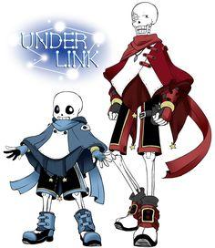 undertale/AU/UNDERLINK by Kaminomiya on DeviantArt