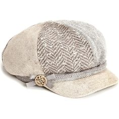 Monsoon Lily Patchwork Bakerboy Hat (6) found on Polyvore