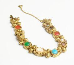 Vintage Goldette Slide Victorian Revival by WeLoveVintageJewelry, $70.00