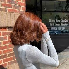 Pressed Natural Hair, Dyed Natural Hair, Brown Blonde Hair, Hair Color For Black Hair, Honey Brown Hair Color, Dye My Hair, New Hair, Short Dyed Hair, Curly Hair Styles
