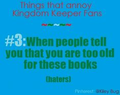 Things That Annoy Kingdom Keepers Fans #3 - by @Kiley Bug