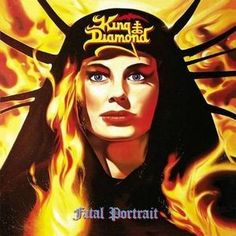 KING DIAMOND - FATAL PORTRAIT-Sealed-New Record on Vinyl Track Listing - The Candle - The Jonah - The Portrait - Dressed In White - Charon - Lurking In The Dark - Halloween - Voices From The Past - Ha