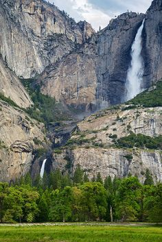 Yosemite Falls | Flickr - Photo Sharing!  Pin for your chance to win $1,000 for travel anywhere on your bucket list from Hipmunk! #HipmunkBL