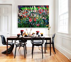 The Lonesome Gardener I - Peter Hackett Brush Strokes, Tapestry, Inspire, Gallery, Painting, Inspiration, Color, Home Decor, Art