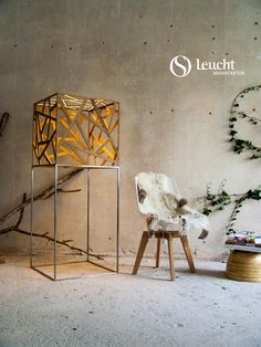#kubus: handmade in Munich by #Leuchtmanufaktur. Designer: Otto Sprencz #Lichtdesign, #lightdesign, #Holzleuchte, #woodlamp, #LED