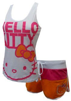 Hello Kitty short Pajama Set