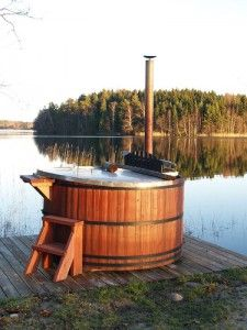 cedar wood hot tub (I'm sure we could find a place for it.)