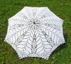 Lettere e Arti di Lala: ombrello all'uncinetto