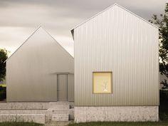 Fachada de Casa de Aço Arquiteto: FAF