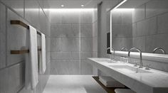 Lighting example - Café Royal Hotel - Bathroom