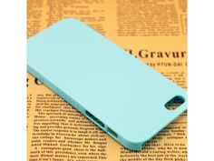 Clear Hard Baby Blue Case Cover For iPhone 5/5S