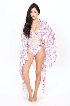 Floral all over <3 #FrankiesBikinis Cover Up