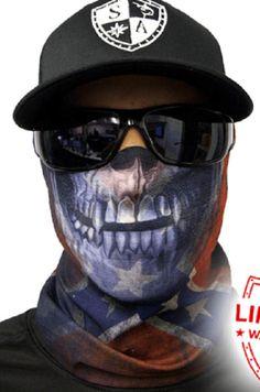 Sa Fishing Company Face Shield Balaclava Bandana Face Mask Neck