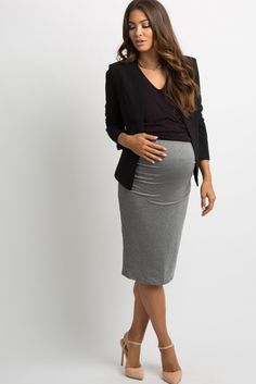 f3916385ebe0e ASOS Maternity Sculpt Me Leather Look Pencil Skirt - Black | Products | Maternity  skirt, Asos maternity, Latest fashion clothes