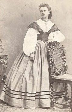 1860s Exceptional Beauty and Dress Germany CDV   eBay