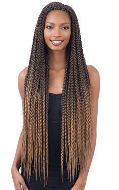43 Cool Blonde Box Braids Hairstyles to Try - Hairstyles Trends Large Box Braids, Short Box Braids, Blonde Box Braids, Ombre Box Braids, Long Braids, Box Braids Hairstyles, Hairstyles Videos, Hairstyles 2016, Updo Hairstyle