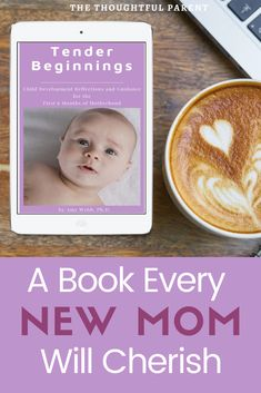 A book every new mom will cherish--Tender Beginnings. One of the best books for new moms. Child development information, support and guidance for moms with new babies. Development Milestones, Baby Milestones, Child Development, Books For Moms, Good Books, Best Parenting Books, Perfect Mother's Day Gift, Good Mental Health, Real Moms