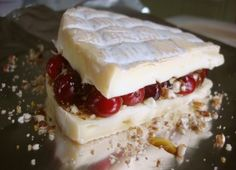 Brie with Cranberry Stuffing