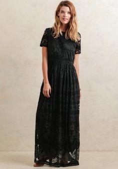 Cute Dresses - Victorian Nights Maxi Dress By Pepa Loves