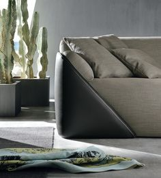 #leather #sofa LAGOON by ALIVAR | #design Andrea Lucatello @Alivar