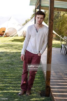 Actor Cameron Monaghan attends the Neon Carnival Recovery Brunch hosted by Spotify and Paper Magazine at Soho Desert House at on April 12, 2015 in La Quinta, California.