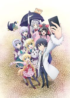 Isekai wa Smartphone to Tomo ni. (In Another World With My Smartphone) Image - Zerochan Anime Image Board Tv Anime, Anime Art, Film Manga, Animes Online, Smartphone, A Different World, New Friendship, Ex Machina, Another World