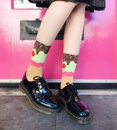 Docs and Socks: The 1461 Patent shoe, shared by gabbiefadel.