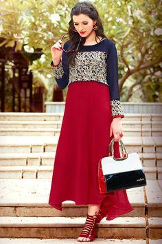 6b060fd82ba 149 Best Designer Indian Kurtis Online images