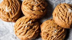 Salted Peanut Butter Cookies - MUNCHIES
