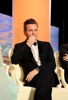 "Ewan McGregor wearing Dolce and Gabbana at ""Moonrise Kingdom"" Premieres at Cannes"